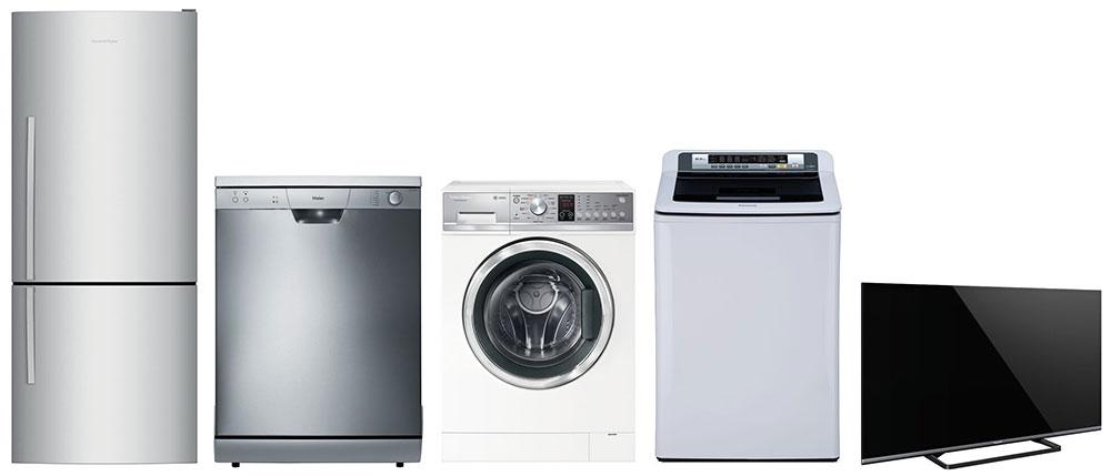 Fridges, Freezers, Washing Machines, Dryers